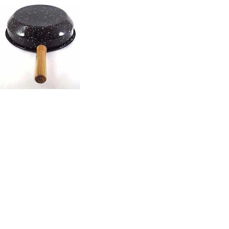 Fritadeira esmaltada com cesto 3, 0 litros - ø 26 cm       marca arasul/asul ind     modelo fritadeira esmalt c/cesto crom 26cm arasul