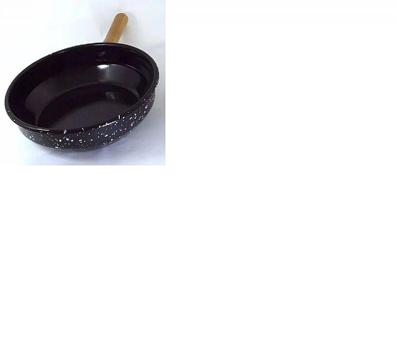 Panela fritadeira esmalte c/ cesto cromado 20 cm 1, 8 litros  marca arasul modelo frita tudo