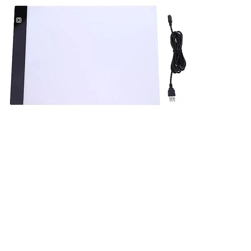 Mesa luz led p/ desenho e trasposicao a4 profissional