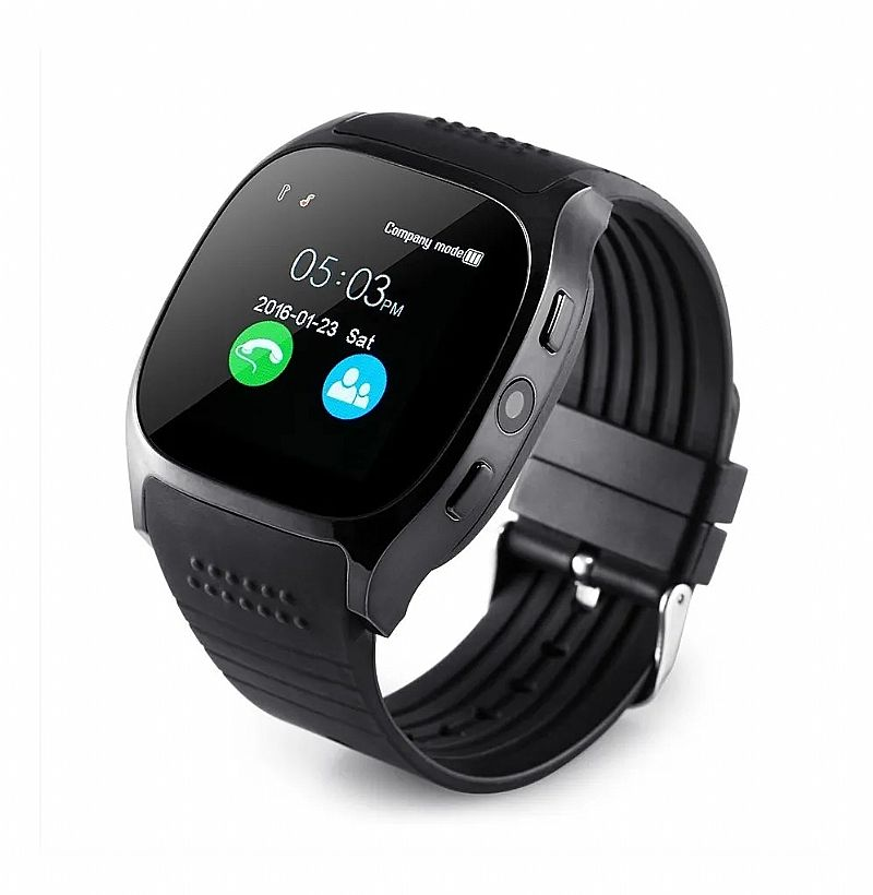 Relogio smartwatch t8 touch/camera/bluetooth marca lynwo linha 2019