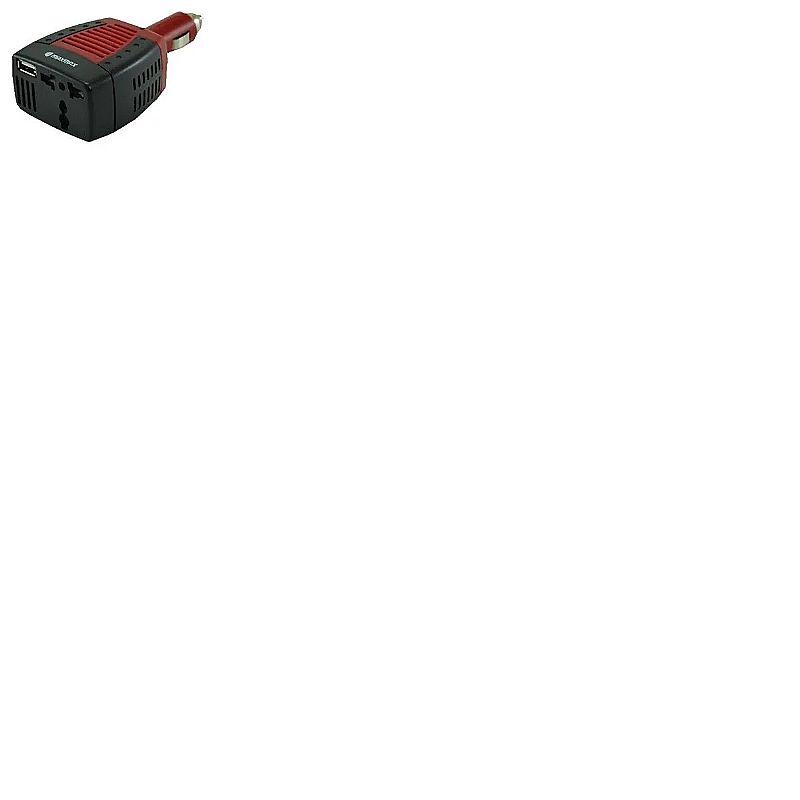 Inversor conversor veicular 75w x2 (pico 100w x2) 12v p/220v  marca maxmax modelo 7898551042500