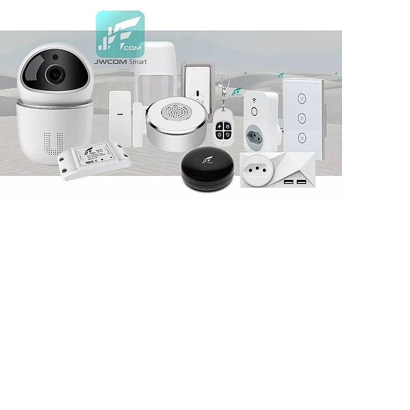 Tomada inteligente smart wifi b2 jwcom alexa e google home  marca jwcom smart linha wifi smart