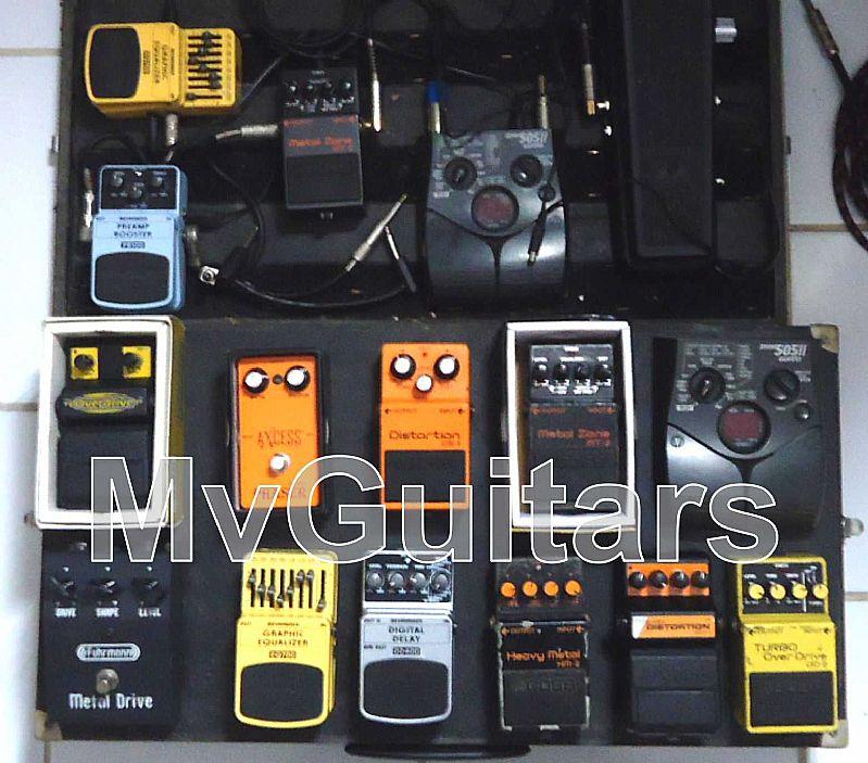 Guitarras,  pedais,  cubos,  amplificadores,  adesivos,  acessorios