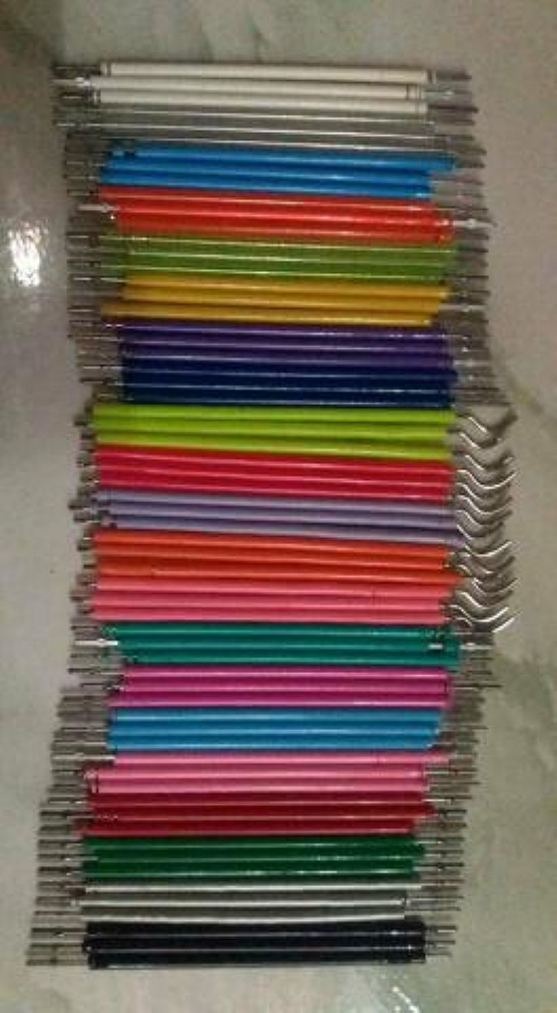 Borrachinha de aparelho todas as cores
