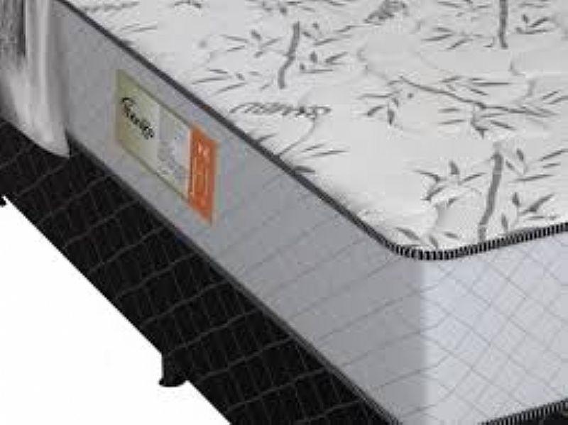 Cama Box Casal Plumatex Conjugado 54cm de Altura - Mônaco