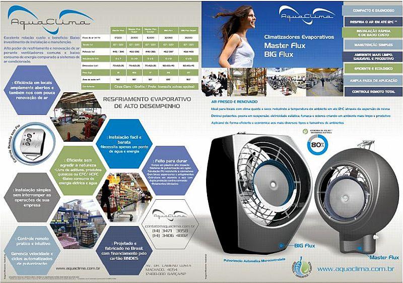 Climatizador big flux 150 m²