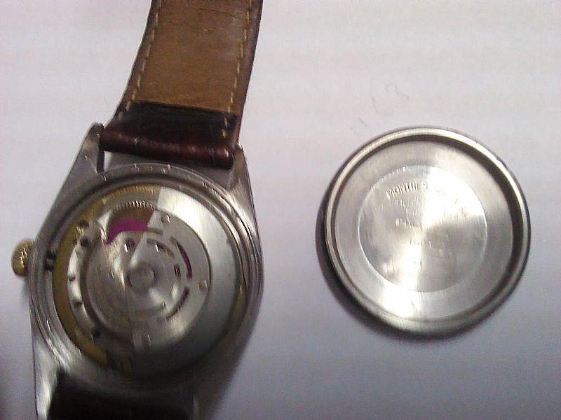 Relogio  Rolex modelo 1600 aco e ouro mostrador romano
