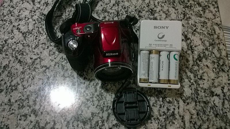 Camera Nikon L820 pouquissimo uso