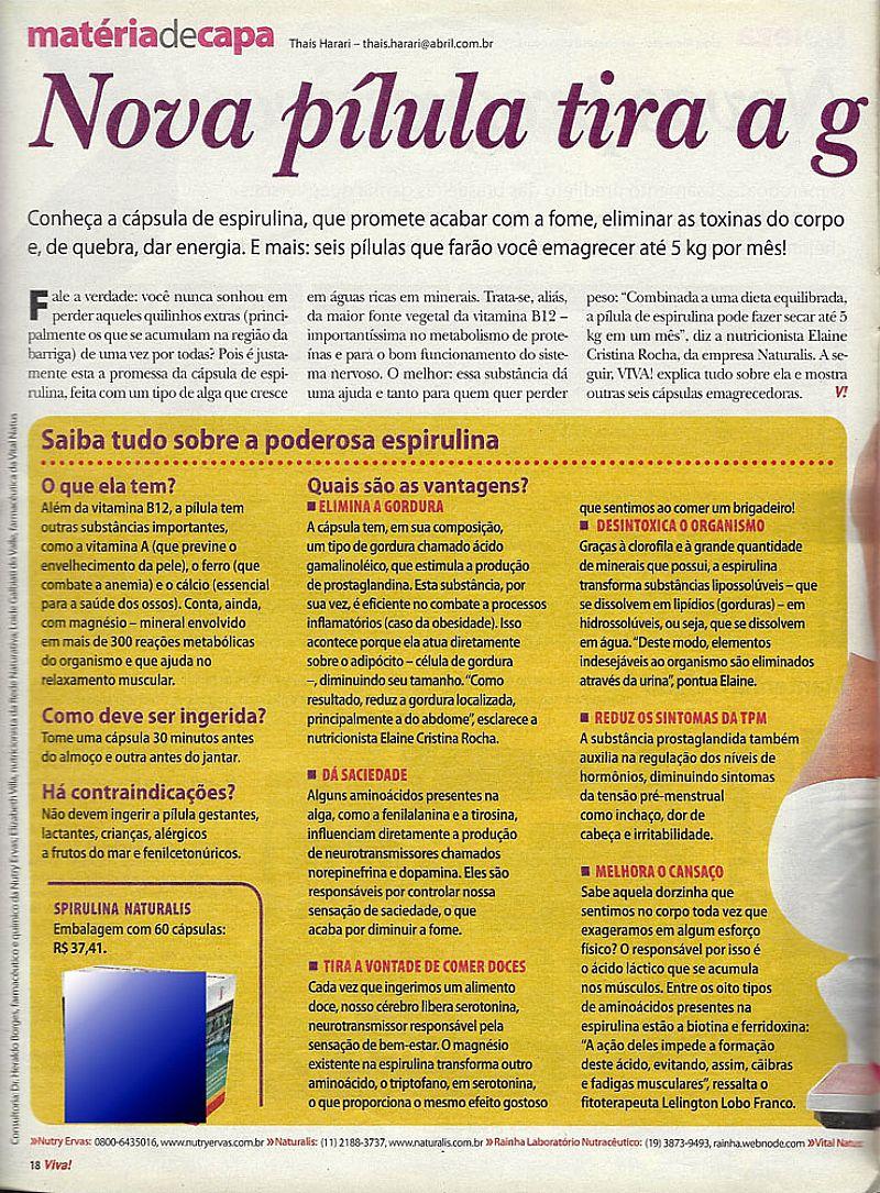 Adriana Birolli,   Ela Nao Tem Papas na Lingua,   Igual a Isabel de Viver a Vida,   Revista Viva Mais nº 552