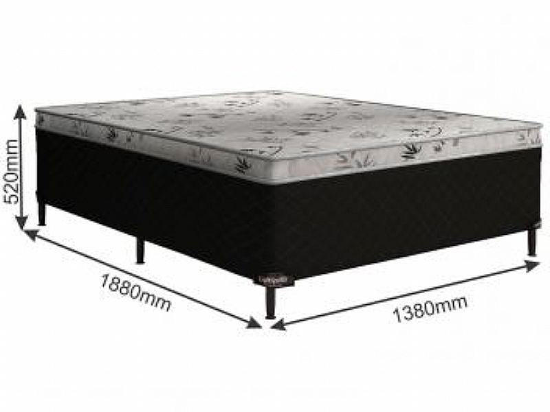 Cama Box Casal Somopar Conjugado 52cm de Altura - Grecia