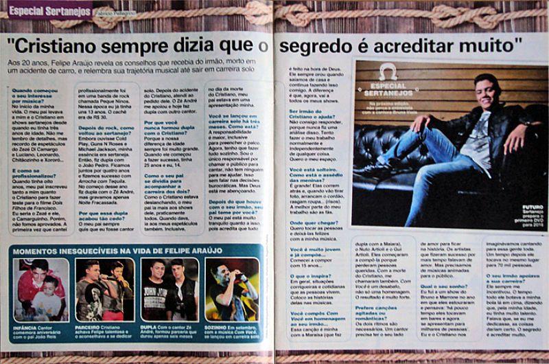 Silvio Santos e Suas Meninas,  O Aporesentador e Pai Coruja,  Revista Viva Mais nº 847