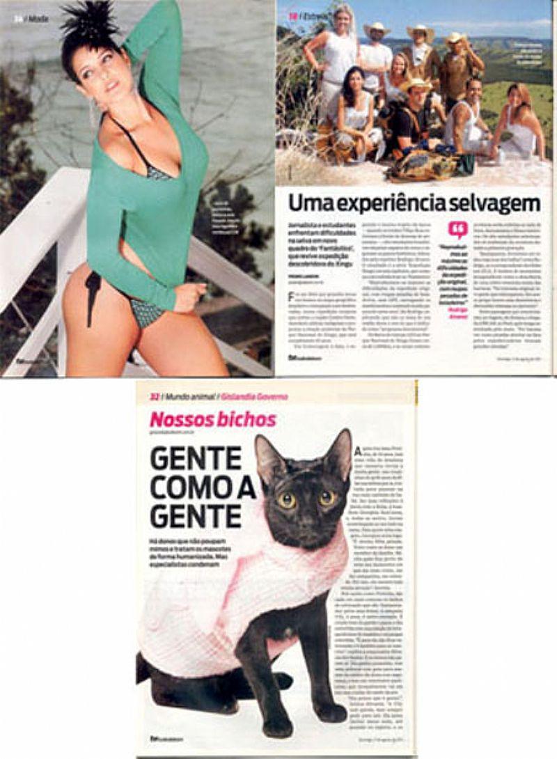 Adriana Birolli e Caio Castro,  Mentiras de Amor,  Revista Tudo de Bom TV nº 317