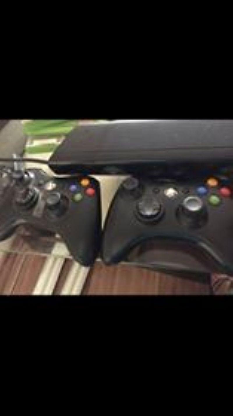 Xbox 360 kicnect   jogos  controles