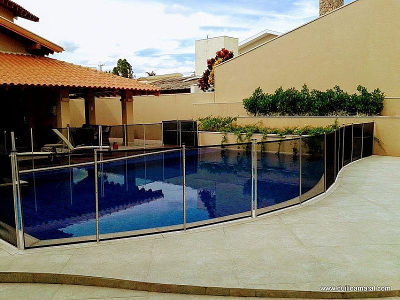 Cerca removivel para piscina