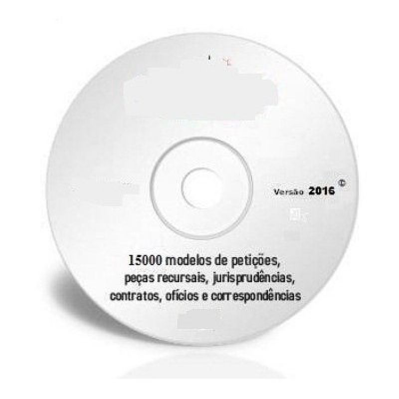 15.000 modelos peticoes juridicas