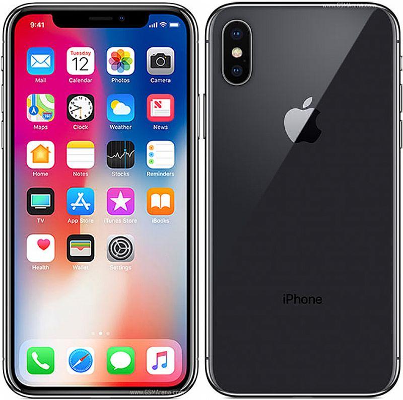 "Iphone x apple 64gb cinza espacial 4g tela 5, 8"" - retina cam 12mp   selfie 7mp"