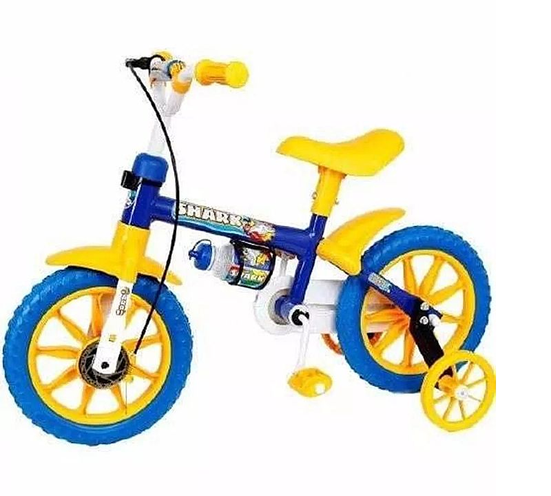 Bicicleta infantil aro 12 shark - nathor