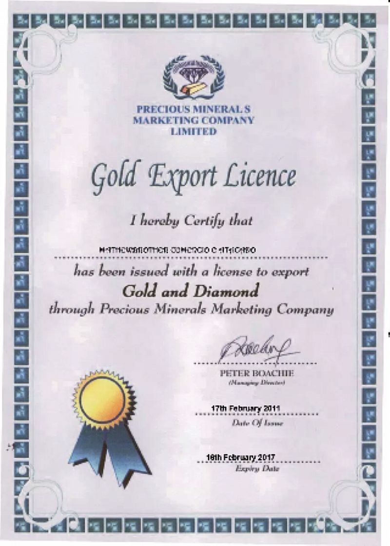 Bulhoes em ouro kilograma 97, 6% pureza