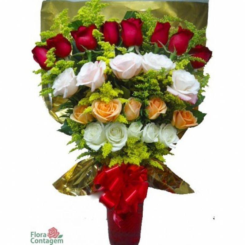 Buque de rosas preco