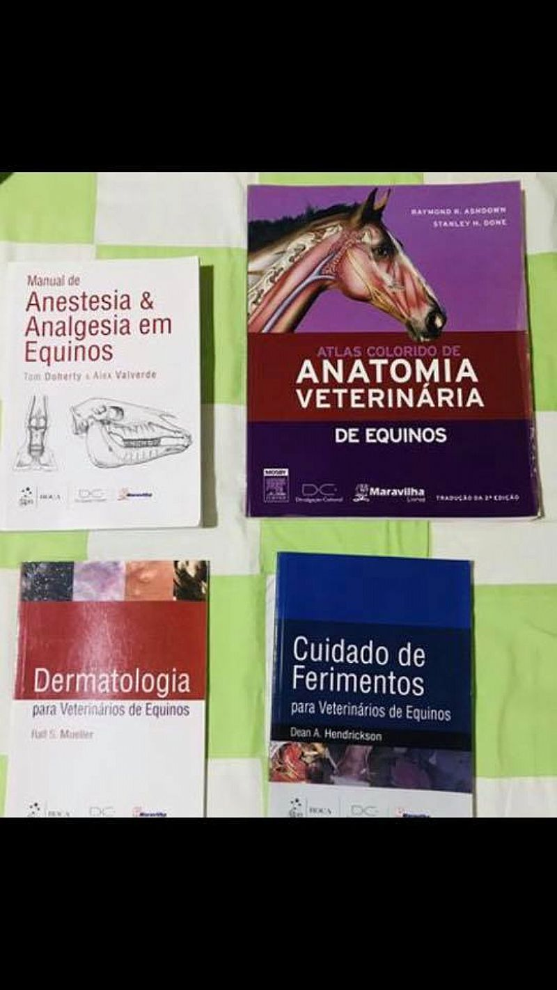Livros medicina veterinaria