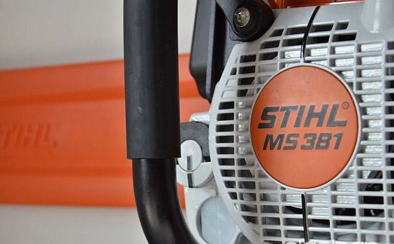 Motosserra stihl ms 381 na caixa sem uso