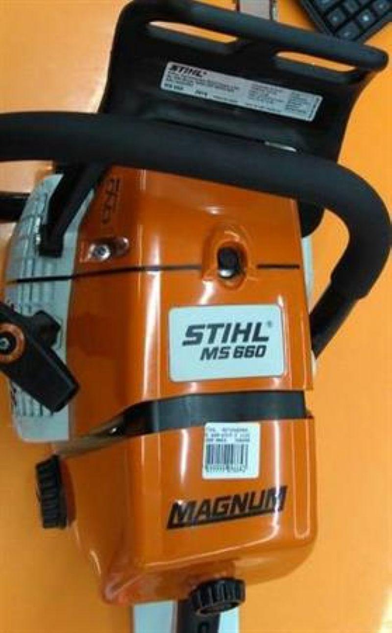 Motosserra stihl ms 660 na caixa sem uso