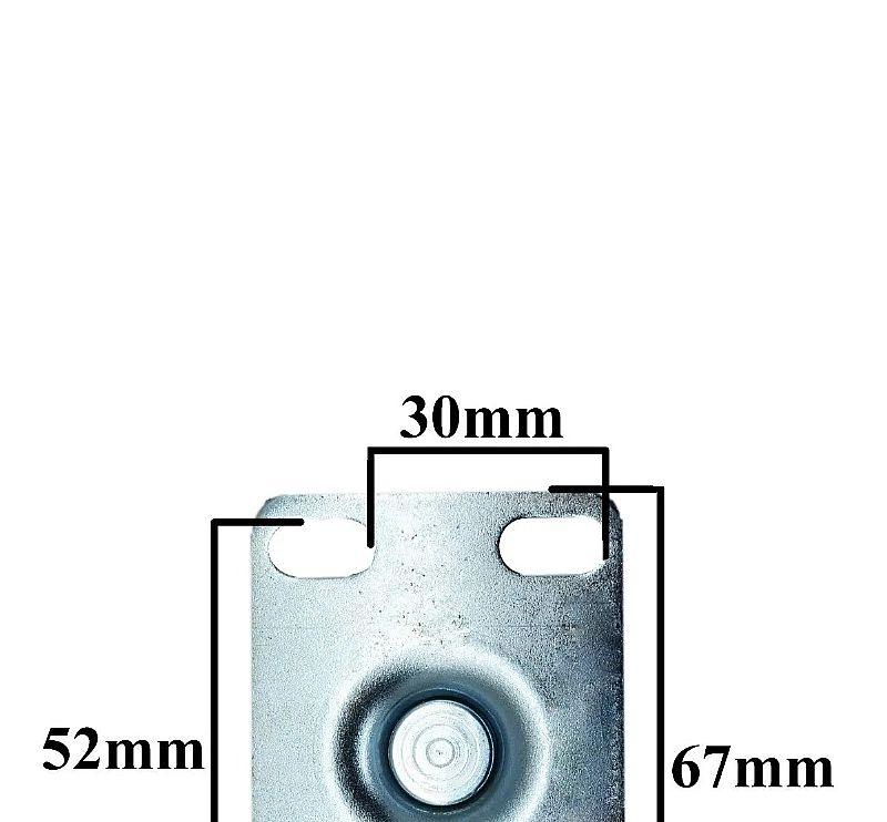 rodinha giratoria para moveis rodizio giratorio 50mm 320kg Kit 4 rodas
