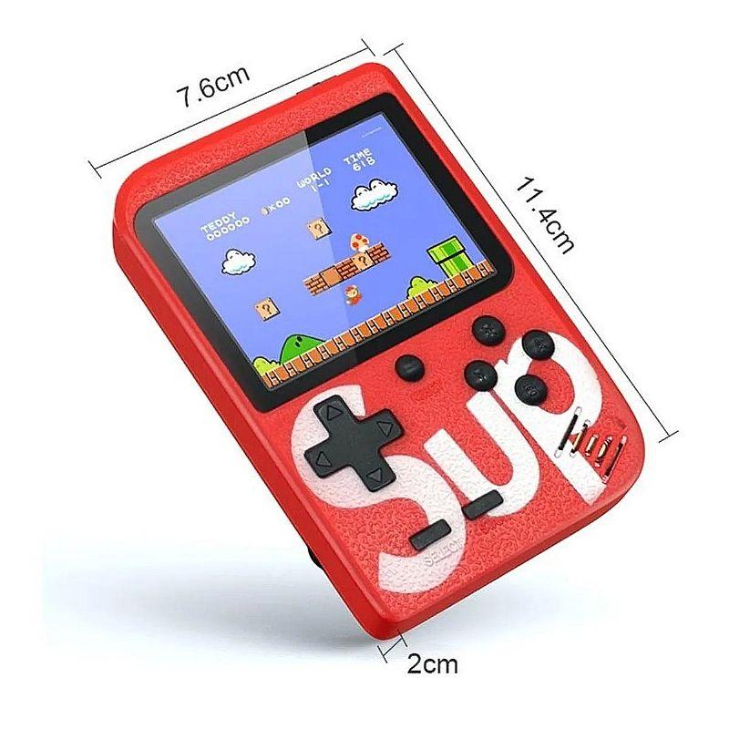 Mini video game boy portatil sup 400 jogos retrô classicos  marca sup modelo game box