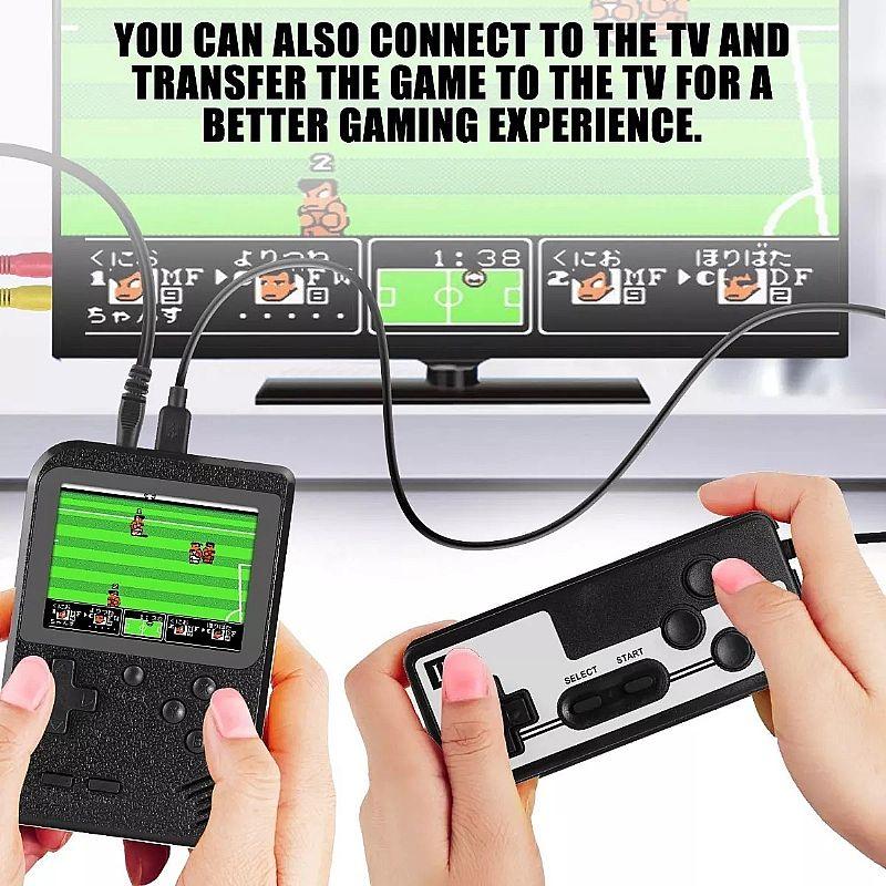 Video mini game sup portatil 400 jogo 2 player com controle       marca sup / knup     modelo sup gamer