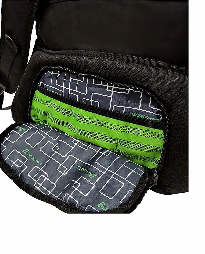 Mochila masculina resist agua reforcada executiva viagem top  marca biaowang modelo mochila faculdade executiva linha premium
