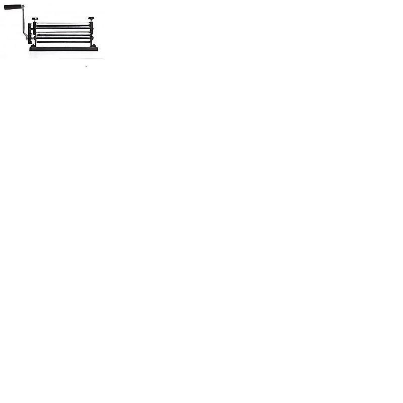 Cilindro laminador massas macarrao ( roletes em aluminio )       marca botini     modelo standard