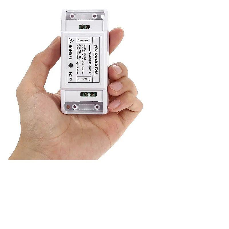 Interruptor wifi automacao residencial casa inteligente ms01 marca novadigital modelo ms101