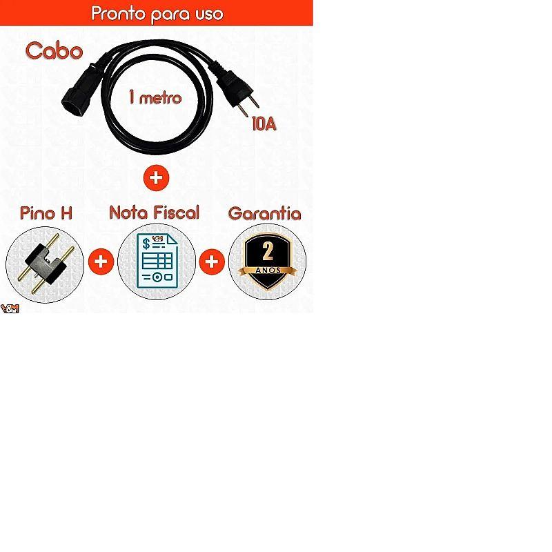 Transformador 1500va fiolux premium bivolt 110 220 e 220 110 marca fiolux modelo 1500 premium