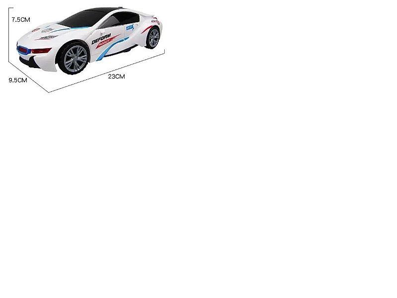 Carro vira robô luz som transformers carro novo modelo to fabricante importado linha carro