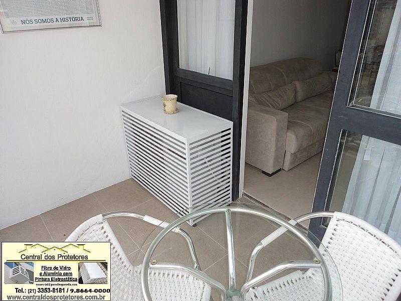 Caixas Grades de Aluminio para Ar Condicionado e Split