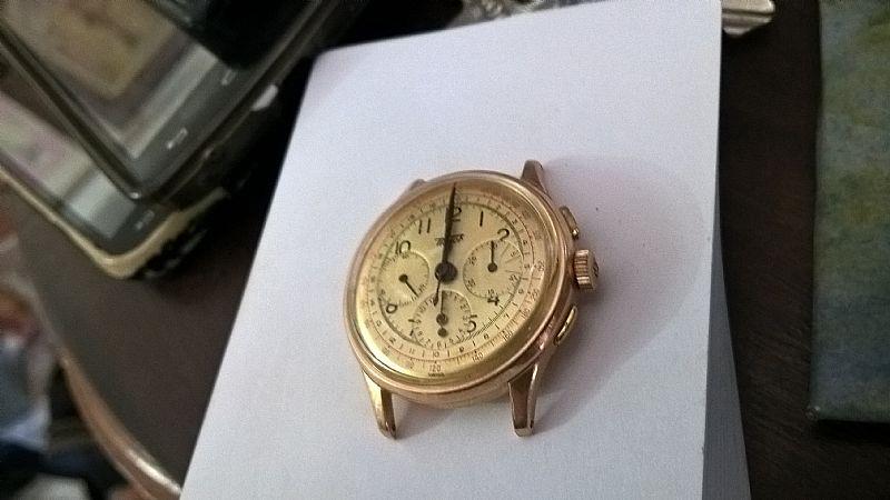 a85cba4508a ... Foto 4 Relogio tissot modelo cronografo em ouro ...