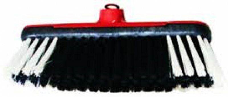 Vassouras Base Plástica com ou sem capa com cabo plastificado e rosca plástica