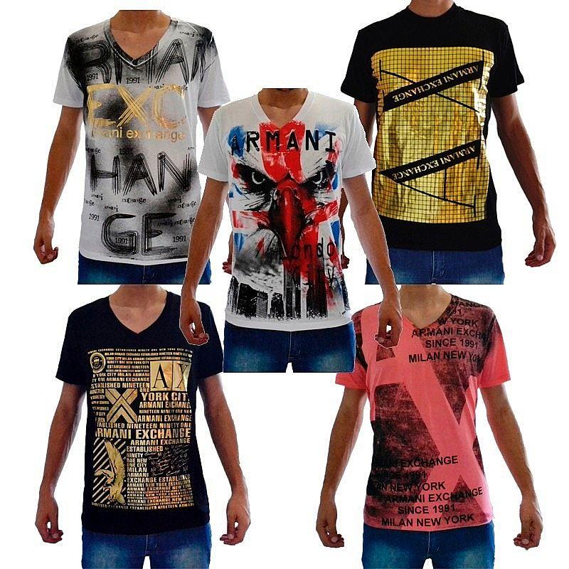55a26d9d1be3b ... Foto 4 Camiseta Armani Atacado -  Somos Fornecedor  Camisetas para  Revenda - Revender Roupas ...