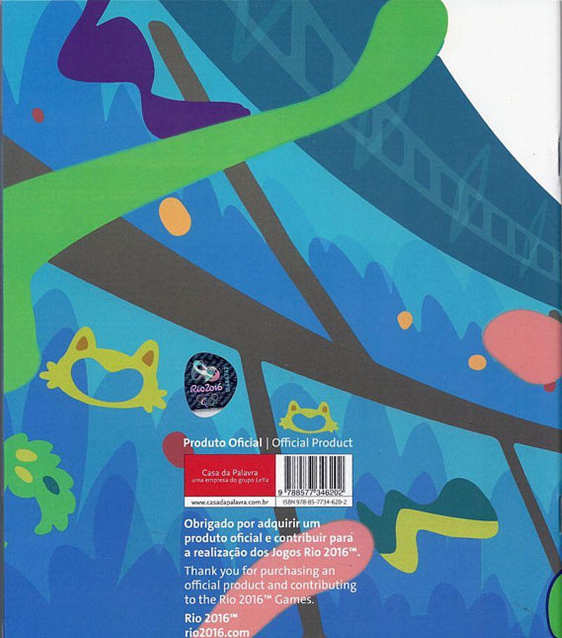Book Programa Oficial,   3 Idiomas,   Rio 2016,   Livro Vinicius e Tom  Em Portugues,   Copo Abertura Paralimpica