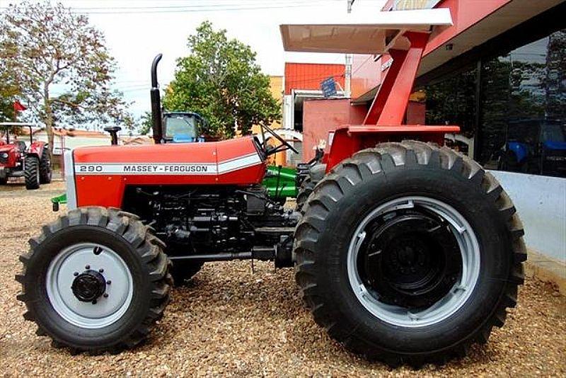 Trator massey ferguson modelo 290 ano 1985 14.99747.1027