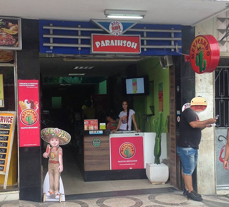 Fornecedor de paletas mexicanas