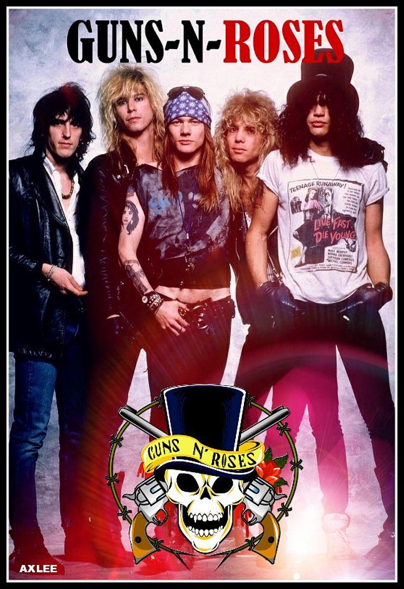 Camisa do Guns n' Roses