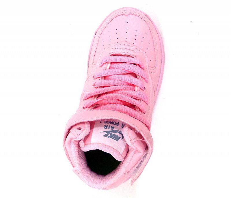 Tenis bebe nike air force  bebe rosa