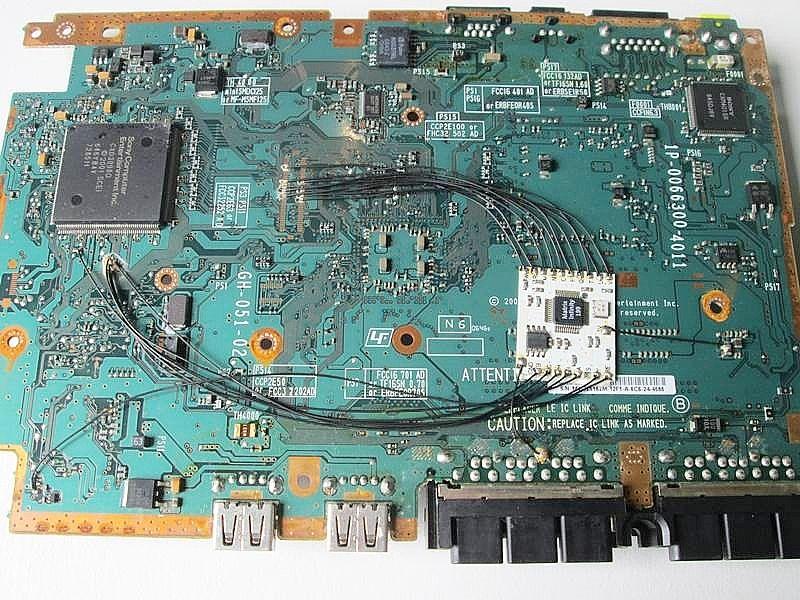 Placa mae ps2 slim - 90006 e 77006 funcionando desbloqueada