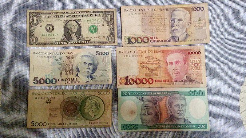 Colecao de moedas e notas antigas,  e da olimpiada rio 2016