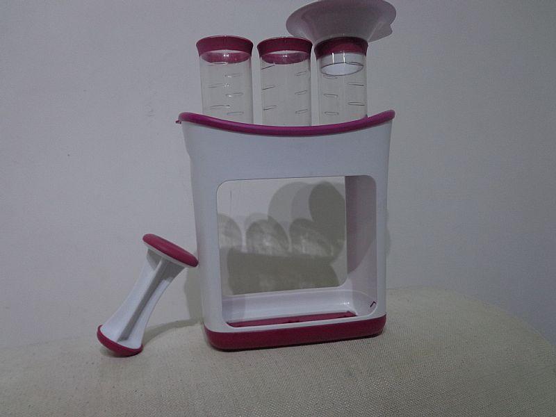 Kit para armazenar papinha importado