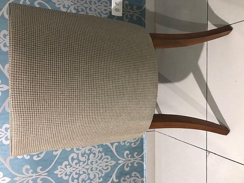 Vendo conjunto com 4 cadeiras belissimas,  estilo poltrona.