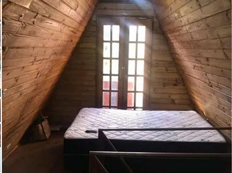 Chale madeira pre-fabricado 39/m2 pronto para morar