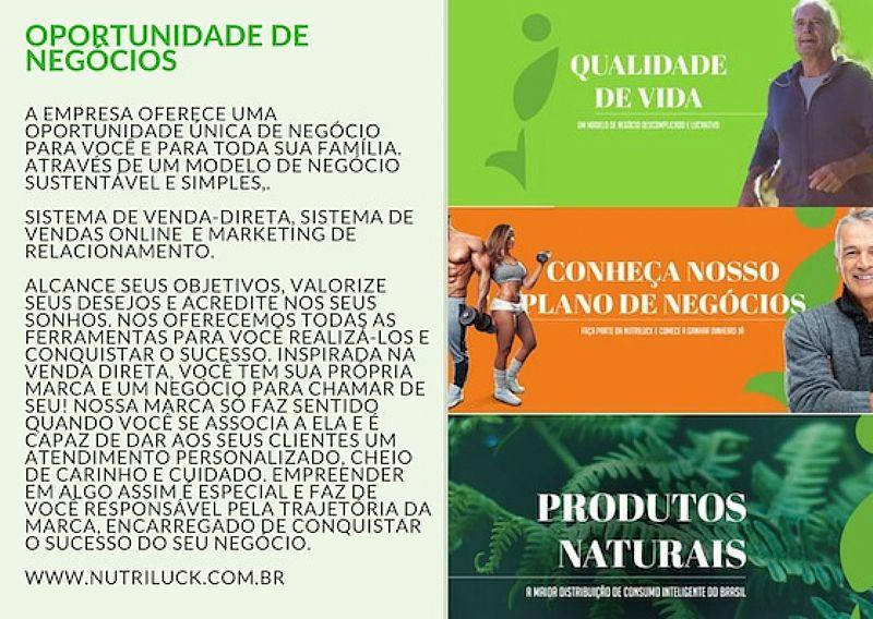 Nutriluck - produtos de qualidade para uma vida mais saudavel