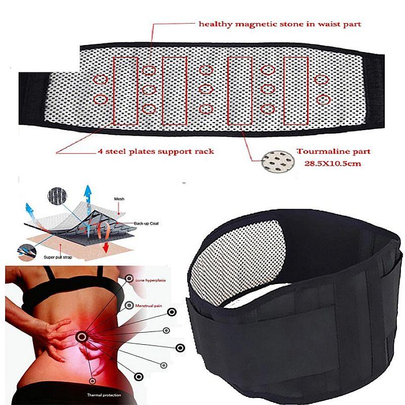 Cinta lombar magnetica turmalina,  terapia para dor ciatico,  hernia disco,  lombalgia,  fibromialgia.